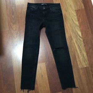 Black Ankle Jeans